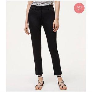 Ann Taylor LOFT Julie Black Cropped Pants